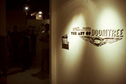art show entrance