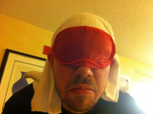 beak towel mask