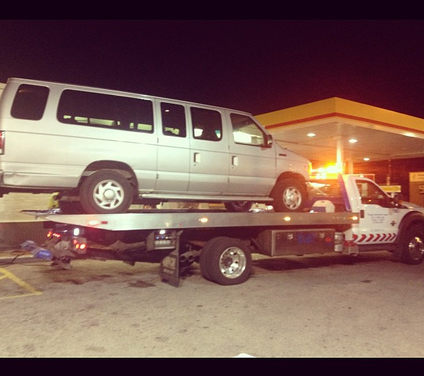 van down