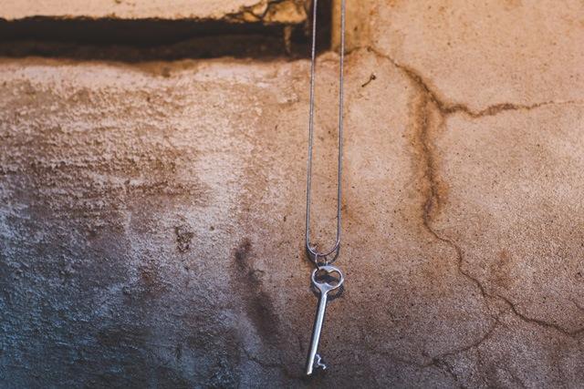 """Dessa """"Skeleton Key"""" Pendant"""