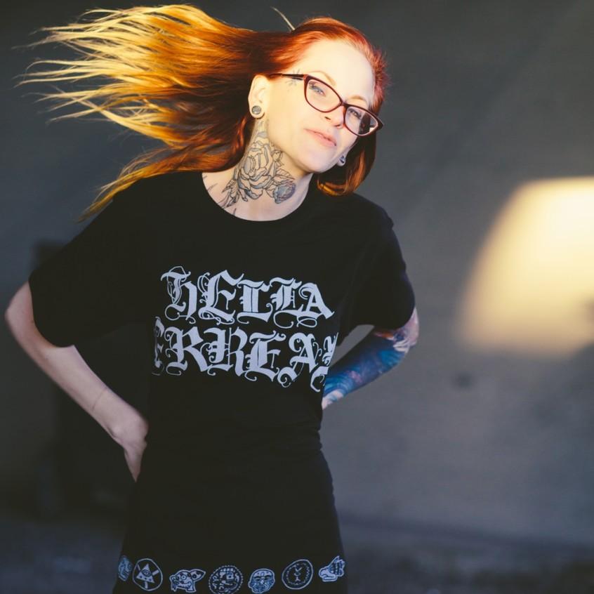 """Mike Mictlan """"HELLA FRREAL"""" Shirt"""