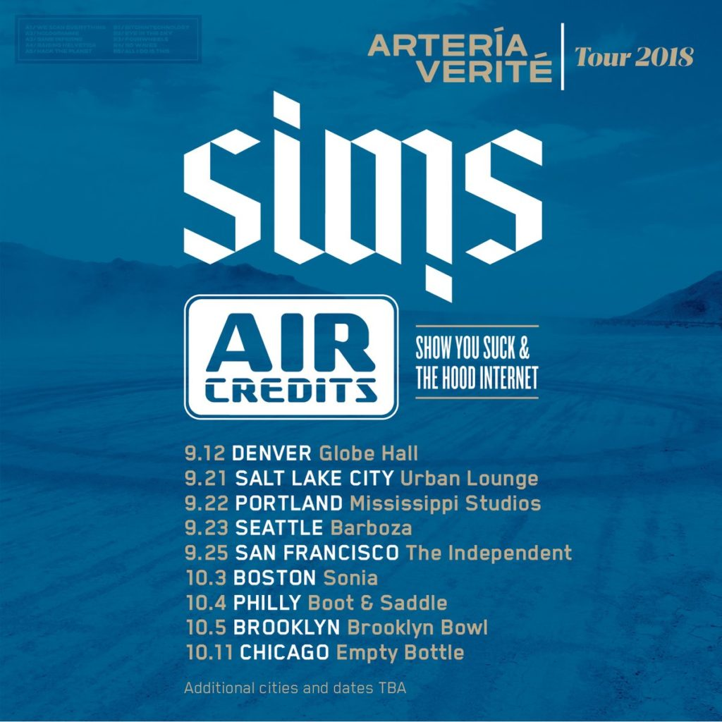 Sims x Air Credits x ICETEP Music Video & Tour Dates – Doomtree