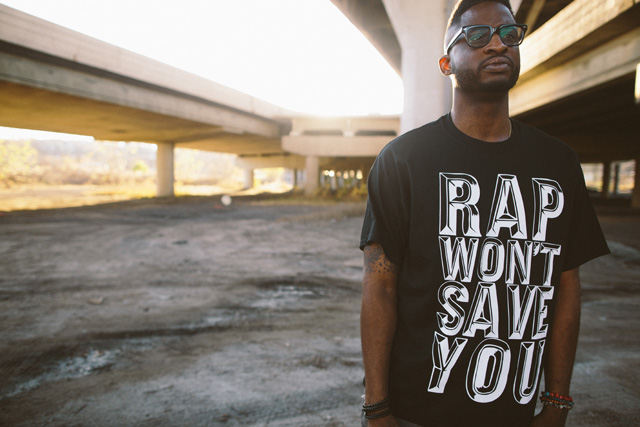 Mike Mictlan %22Rap Won't Save You%22 Shirt