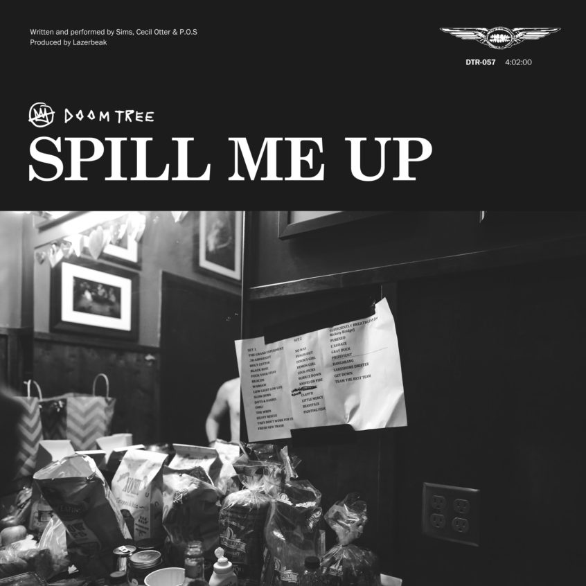 DTR057 Doomtree Spill Me Up Single