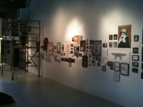 art show wall 2
