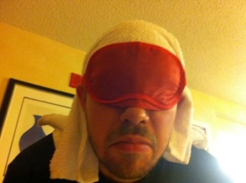 beak towel mask