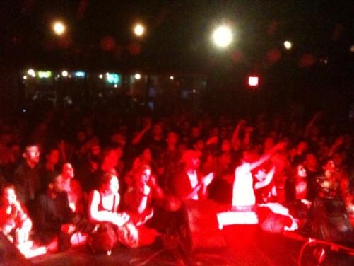 crowd nyc