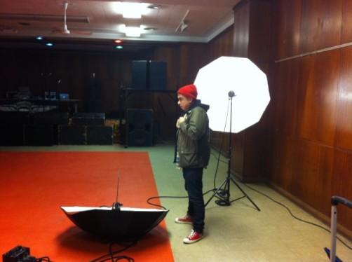 mike photo shoot