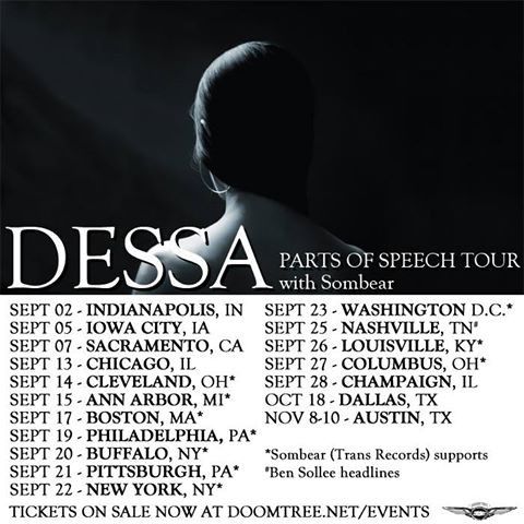 Parts of Speech East Coast Tour