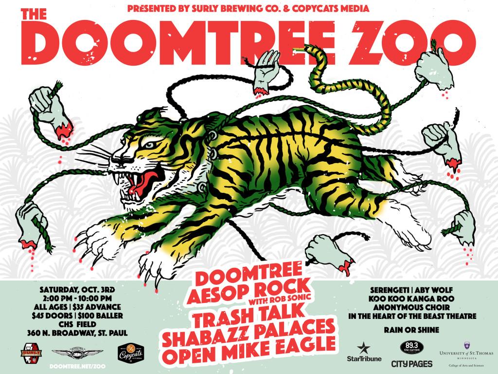 Doomtree Zoo - Main Web Announce
